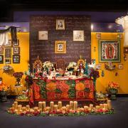 Photo of ofrenda installation