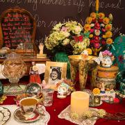 Detail of ofrenda installation