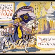 Woman Suffrage Procession, 1913 official program - Courtesy of National Woman's Party Collection, Sewall-Belmont House and Museum, Washington, D.C.