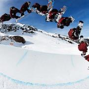Time-lapse of Shaun White