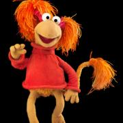 "Red Fraggle from ""Fraggle Rock."" Muppets copyright Disney. Fraggles copyright The Jim Henson Company. Sesame Street characters copyright Sesame Workshop."