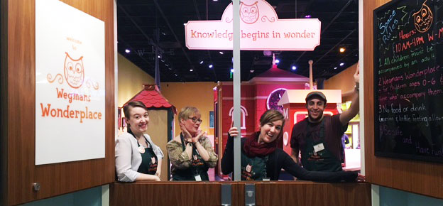 Wegmans Wonderplace staff