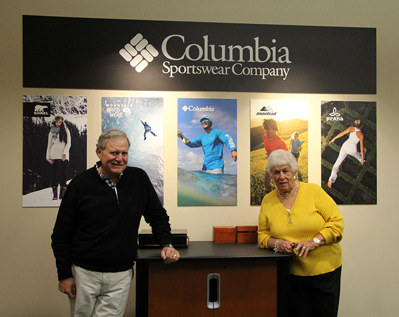 Gertrude Boyle, Chairman of the Board, Columbia Sportswear and Tim Boyle, President, Columbia Sportswear; excerpted from an interview with the National Museum of American History, November 20, 2014.