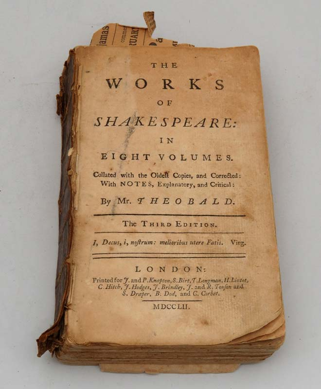 'The Works of Shakespeare'